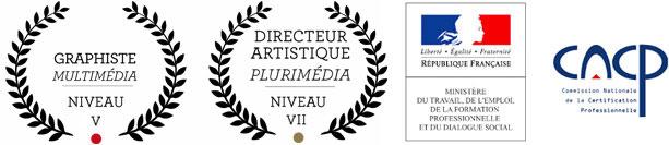 AGR, l'Ecole de l'Image - Nantes - RNCP Niveau I Directeur Artistique Plurimedia & Niveau III Graphiste Multimedia Multimedia