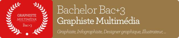 Bachelor Bac+3 Graphiste Multimédia